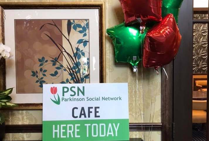 Parkinson Social Network Cafe here today