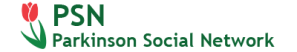 Parkinson Social Network logo banner copyright 2018