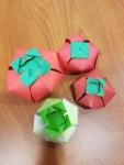 origami tomatoes!