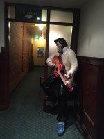 Elvis at Aldgate Pump hotel