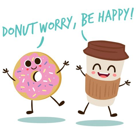 Donut worry, be happy!