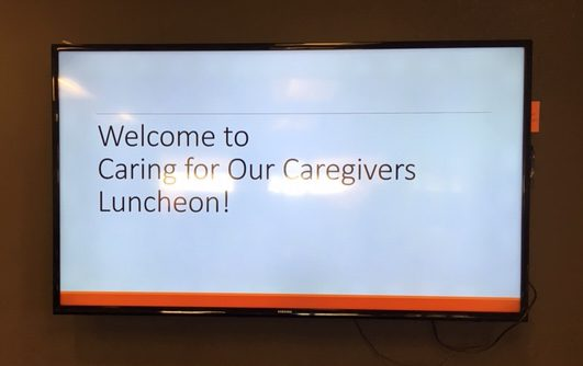Caring for our Caregivers luncheon